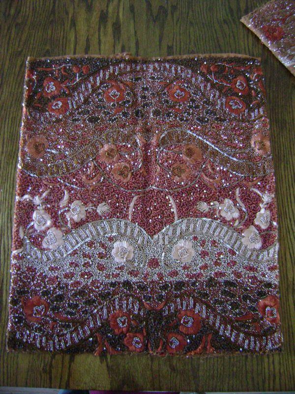 working with embellished fabrics