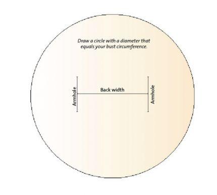 draw the armholes