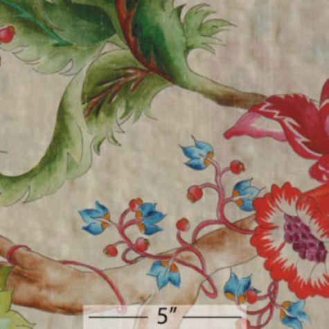 Silk Shantung Print