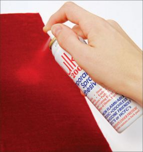 sew velvet basting spray