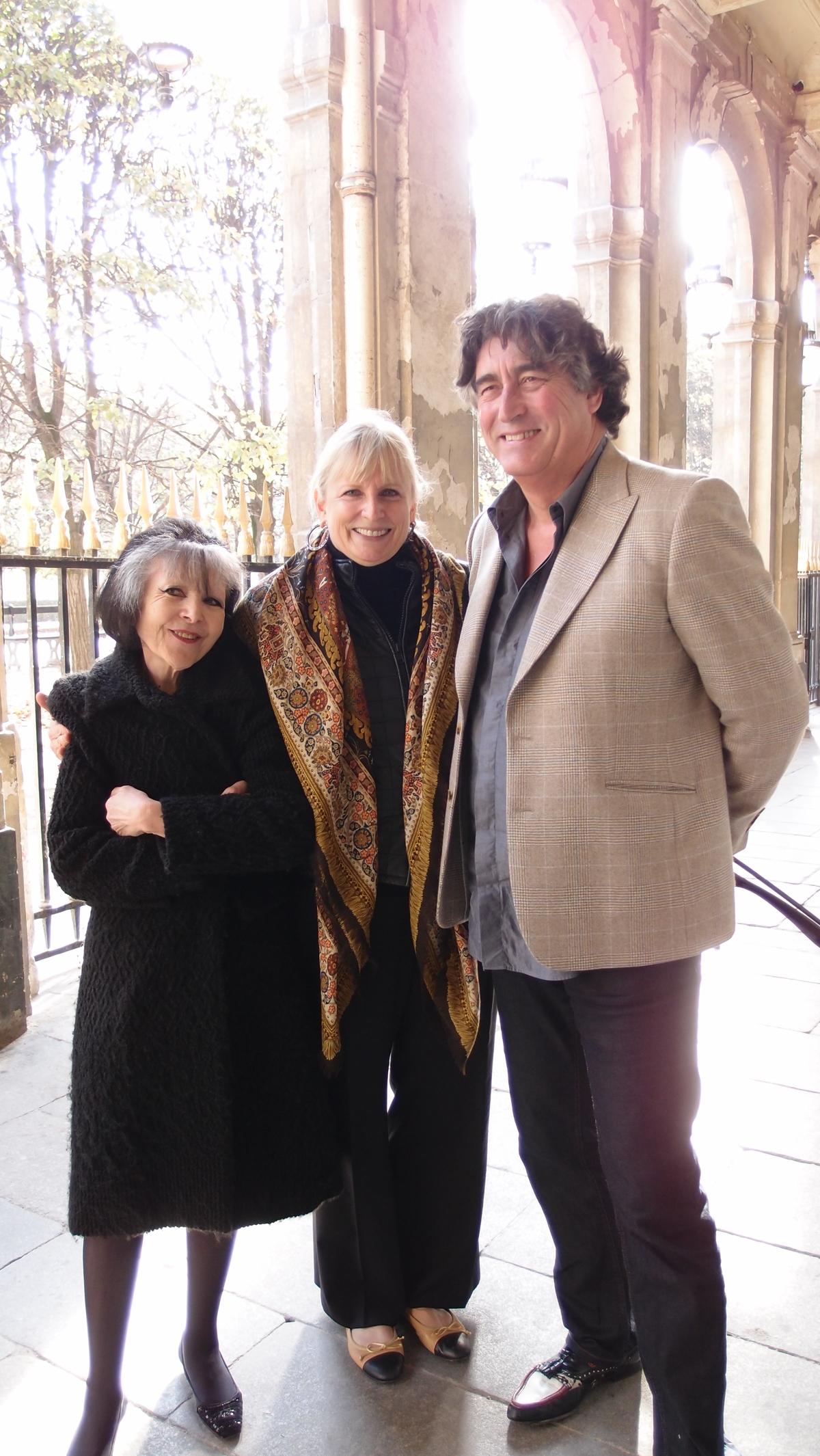 Paris tour with Susan Khalje