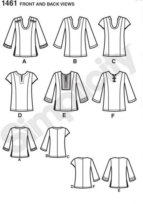 Simplicity pattern 1461