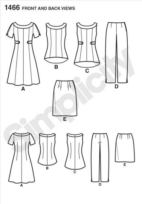 simplicity pattern 1466