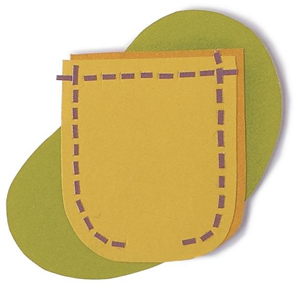 Stitch a curved edge