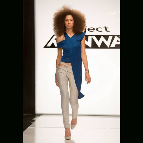 project runways season 13 episode 1 angela sum runway look