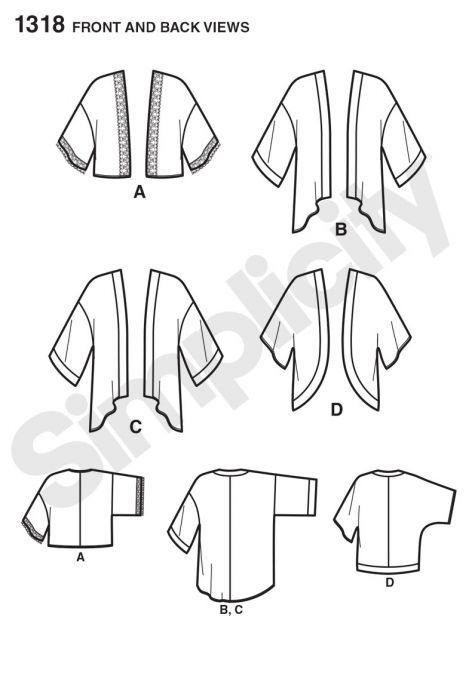 simplicity pattern 1318