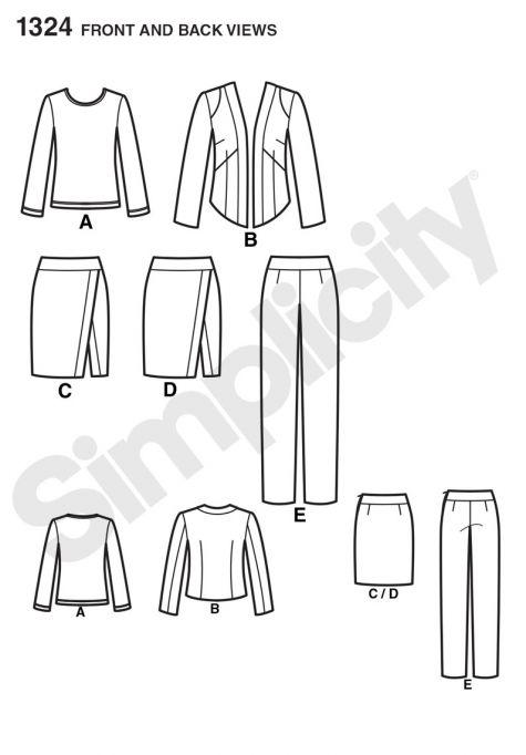 simplicity pattern 1324