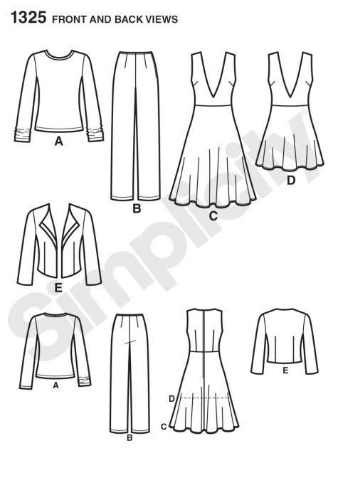 simplicity pattern 1325