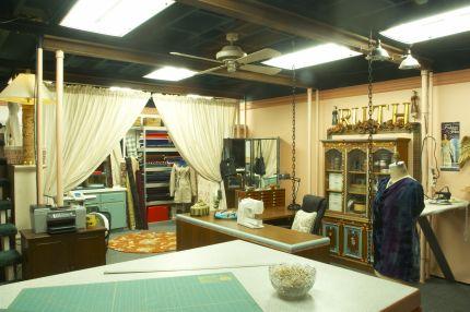 Ruth's studio