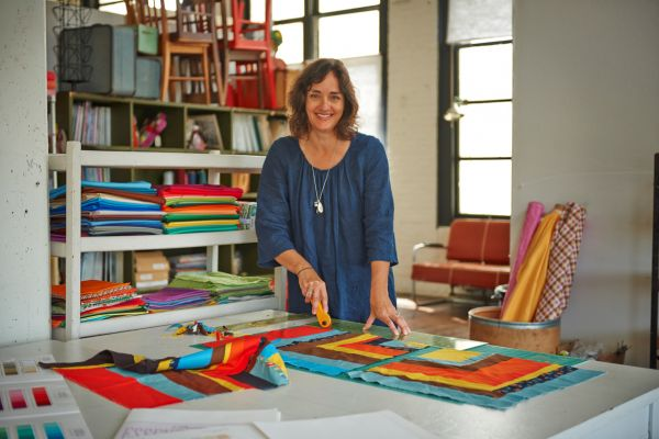 A Closer Look at Denyse Schmidt's Quilting Studio - Threads : denyse schmidt quilts - Adamdwight.com