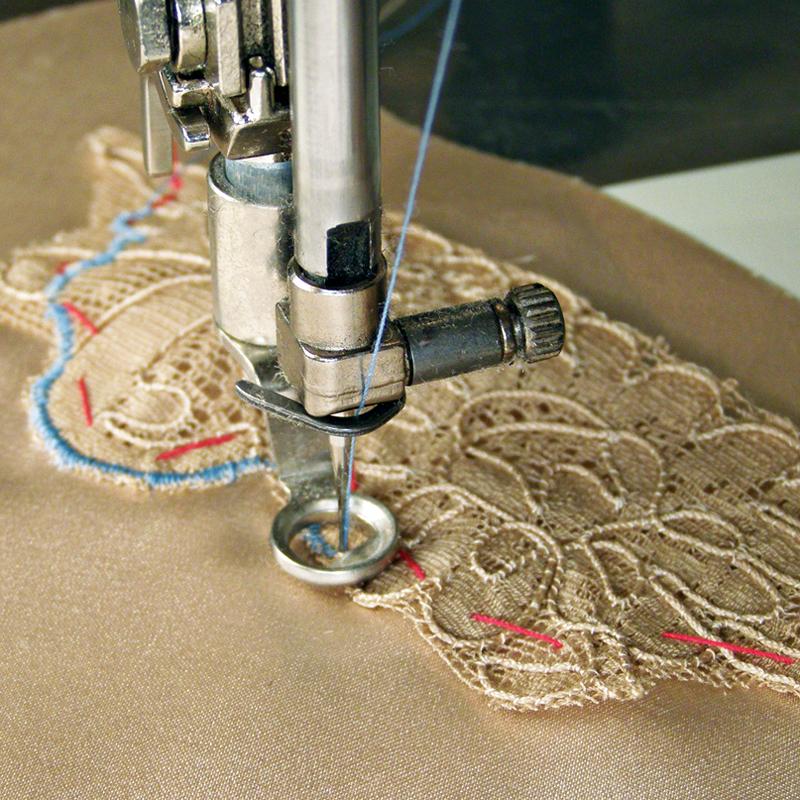 Stitch by machine