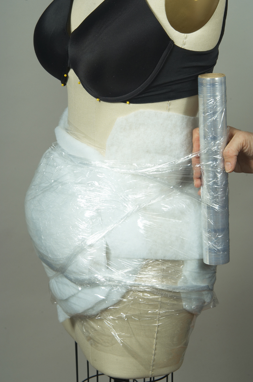 humanize the dress form shape the torso 5