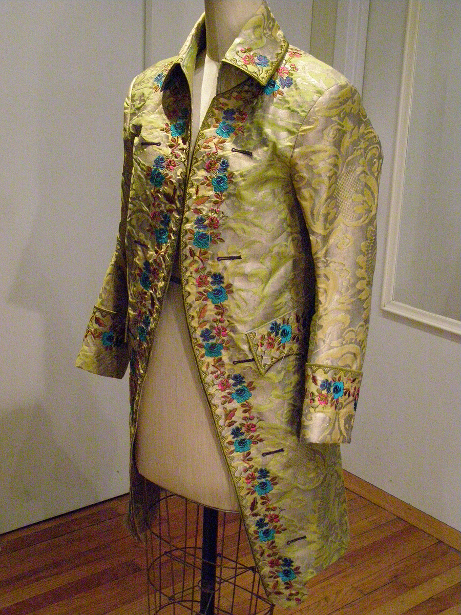 fortuny frock coat