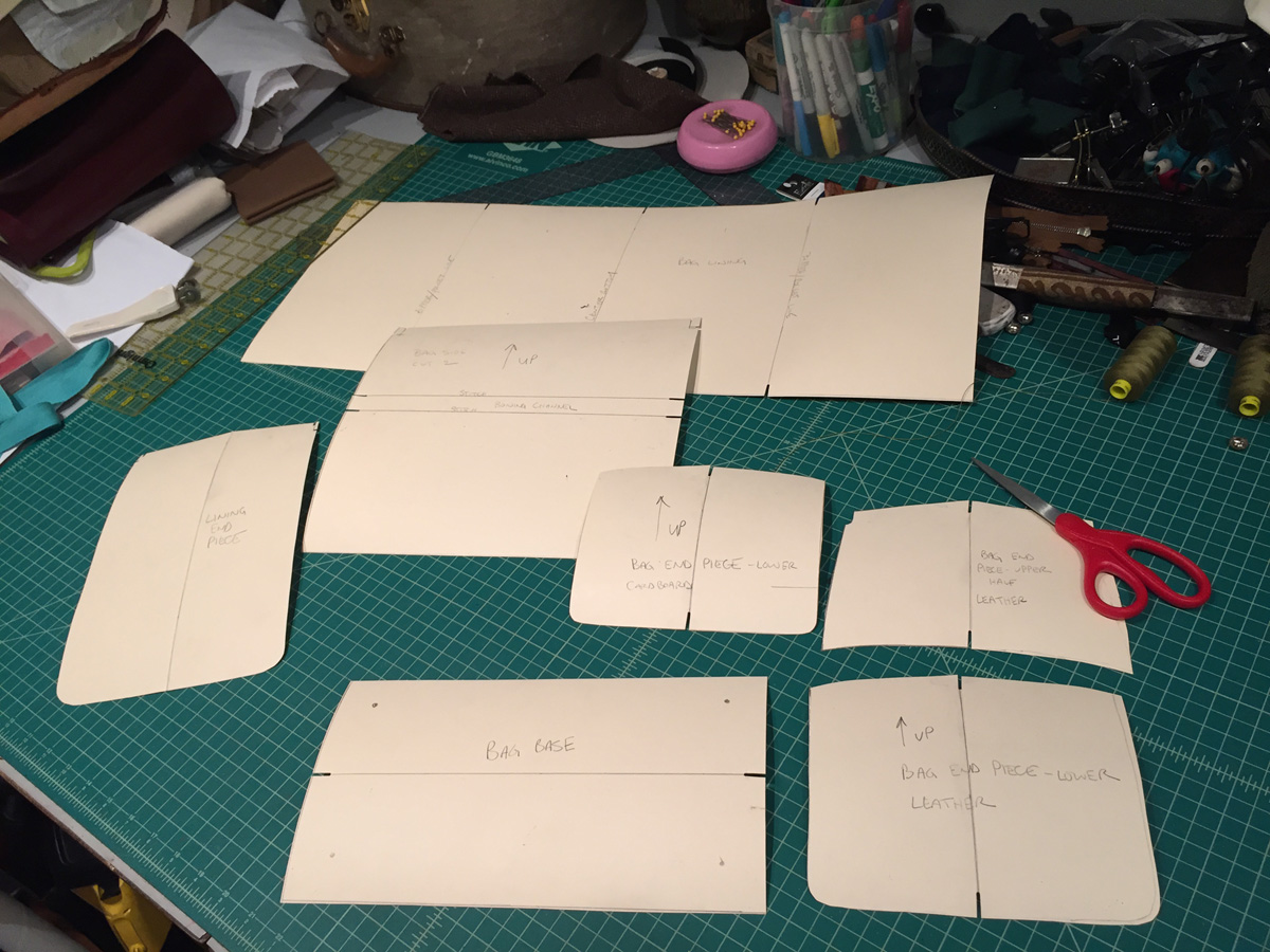 make a fortuny gladstone bag part 1