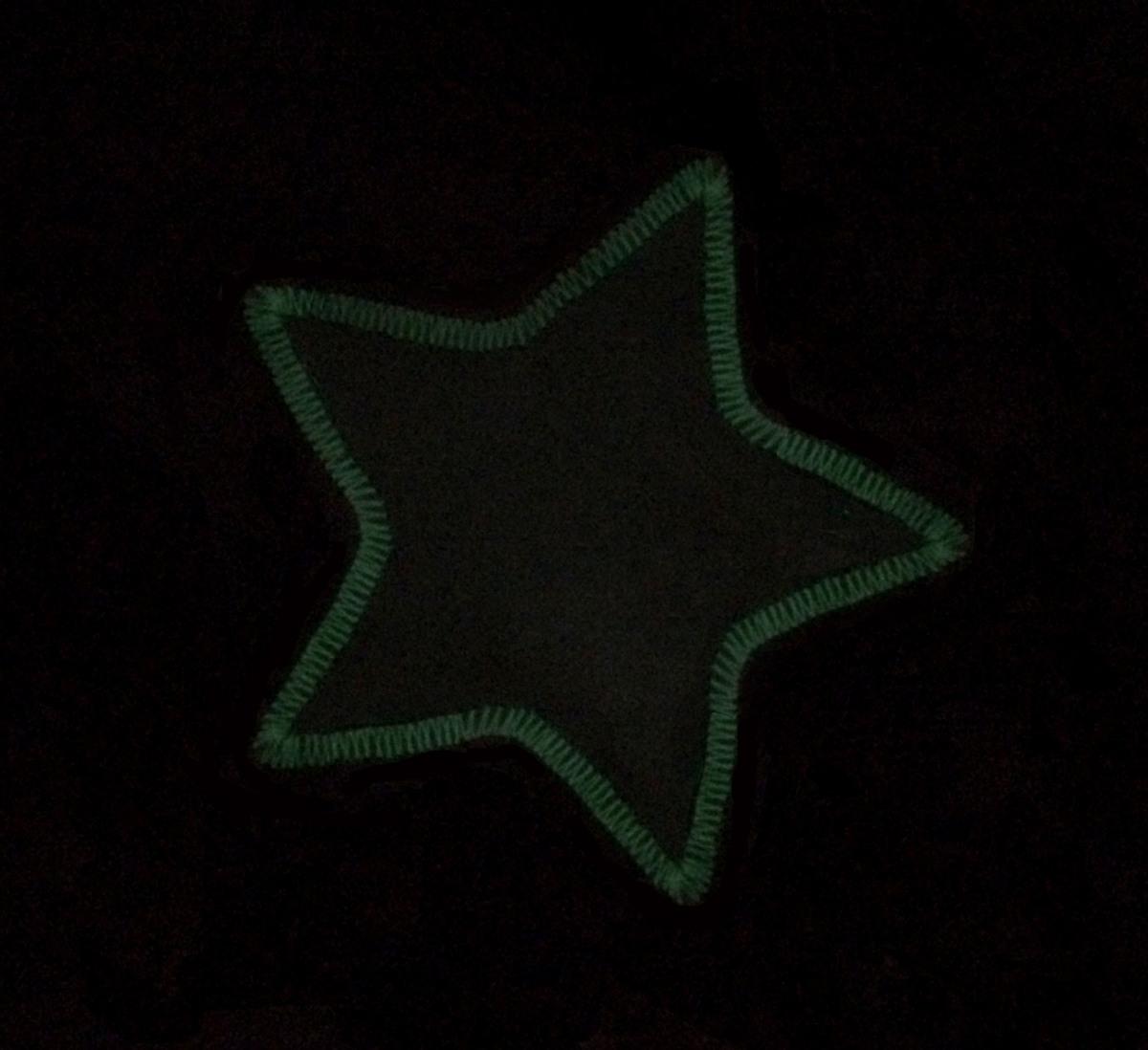 Appliquéd fabric star