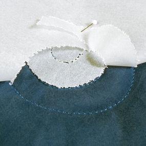 Clean tear-away