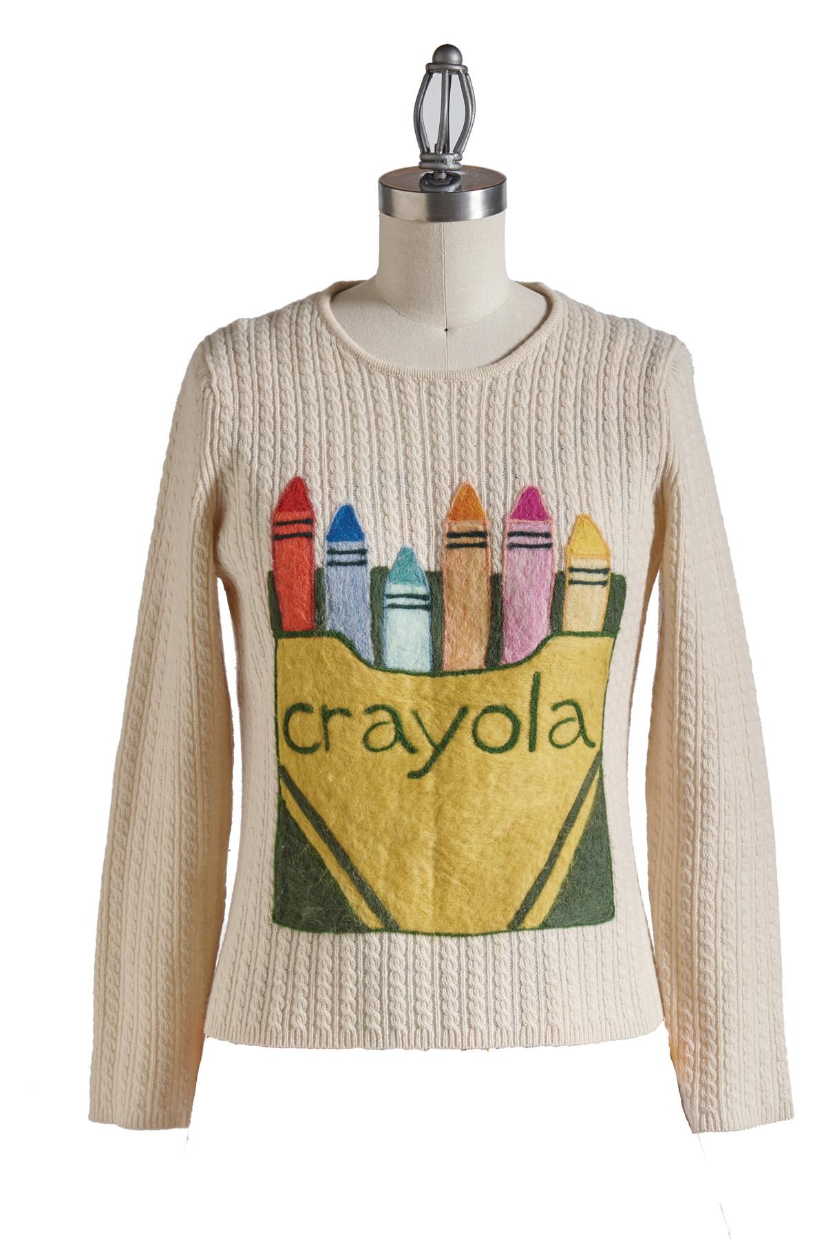 crayola sweater