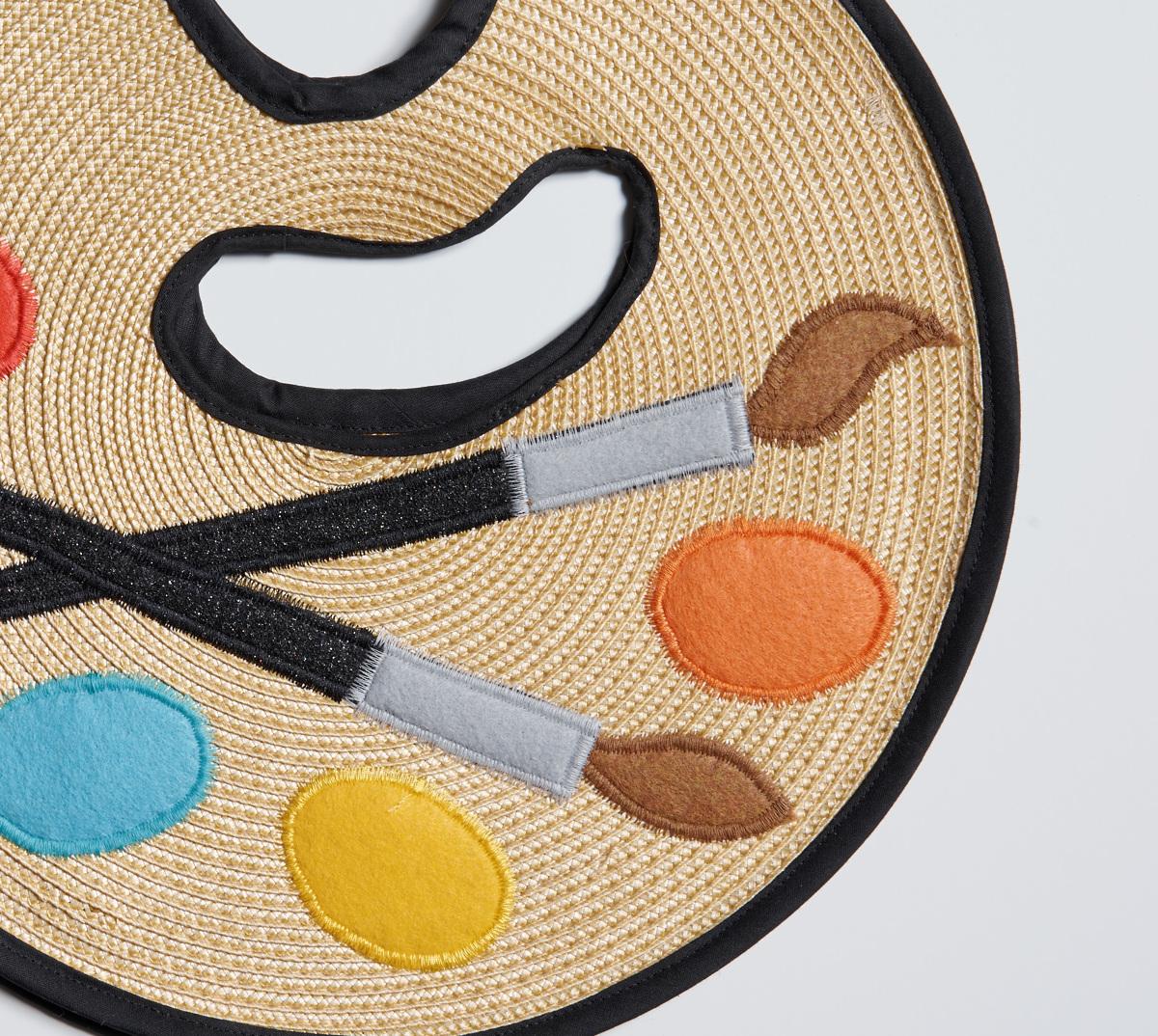 palette purse