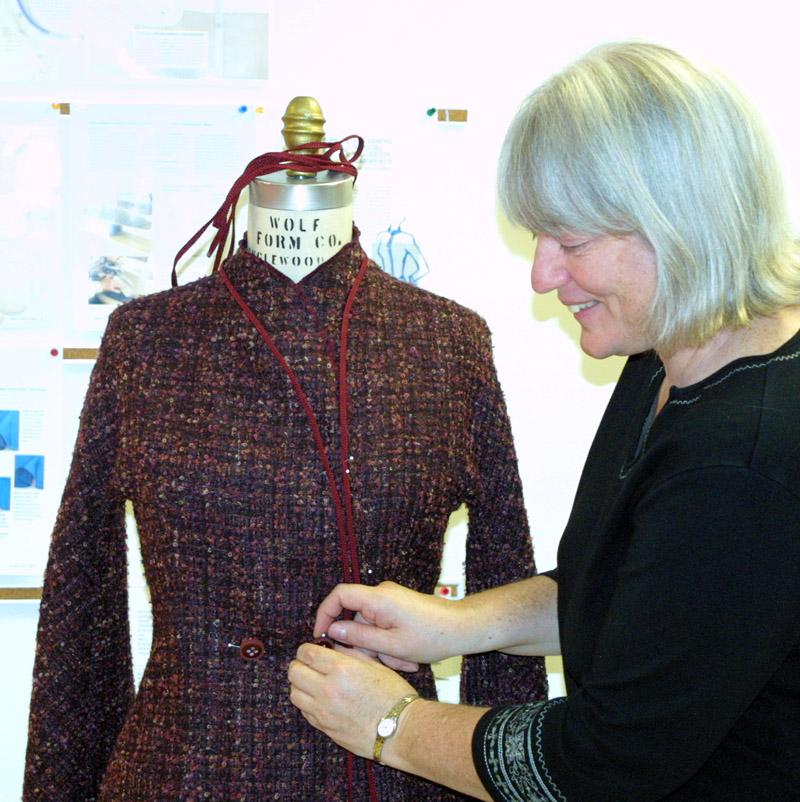 Dressmaker Norma Bucko