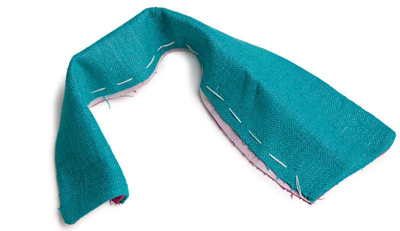 Fold the collar