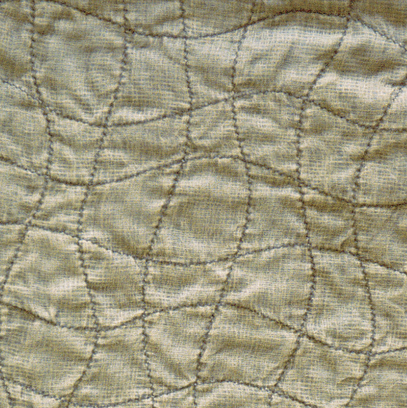 Wavy stitched grid #1