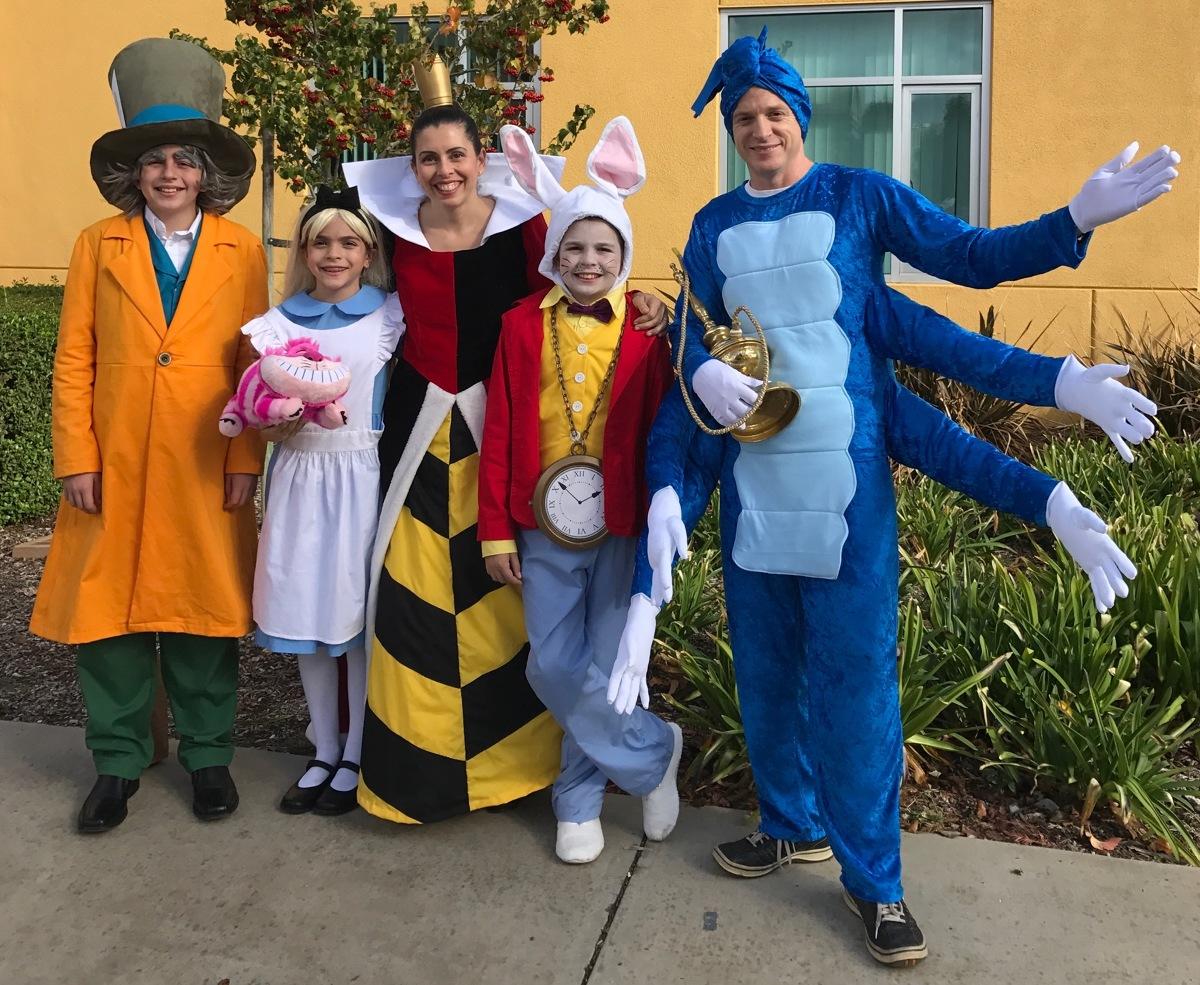 threads 2016 halloween costume alice in wonderland family costumes