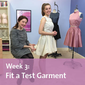 free sew-along week 3 fit a test garment