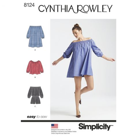 simplicity pattern 8124