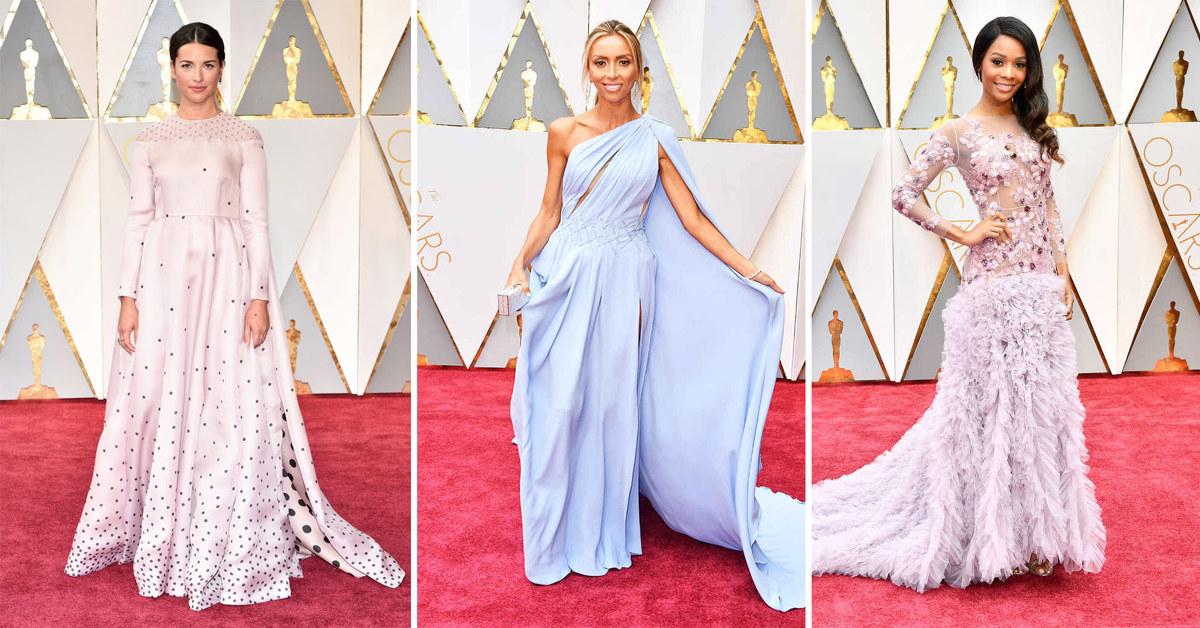 2017 Oscars red carpet fashion