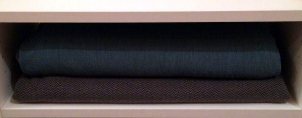 Fold bulky fabrics