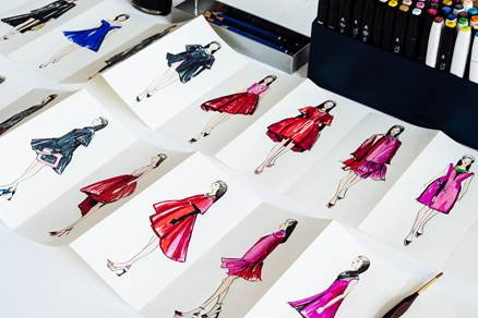 A/W 2014 Dior sketches