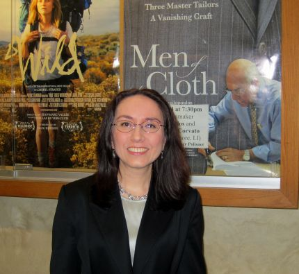 Men of the Cloth director Vicki Vasilopoulos